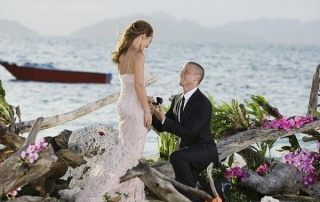 "THE BACHELORETTE: ASHLEY AND J.P.'S WEDDING - Ashley Hebert and J.P. Rosenbaum, the second ""Bachelorette"" couple to ever walk down the aisle, will share a dramatic new chapter of their love story with millions of viewers and Bachelor Nation when ABC televises their much anticipated wedding on ""The Bachelorette: Ashley and J.P.'s Wedding"" this December.(ABC/MATT KLITSCHER) ASHLEY HEBERT, J.P. ROSENBAUM"