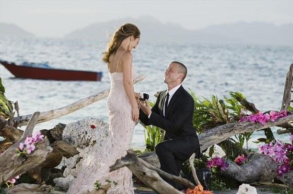 """THE BACHELORETTE: ASHLEY AND J.P.'S WEDDING - Ashley Hebert and J.P. Rosenbaum, the second """"Bachelorette"""" couple to ever walk down the aisle, will share a dramatic new chapter of their love story with millions of viewers and Bachelor Nation when ABC televises their much anticipated wedding on """"The Bachelorette: Ashley and J.P.'s Wedding"""" this December.(ABC/MATT KLITSCHER) ASHLEY HEBERT, J.P. ROSENBAUM"""